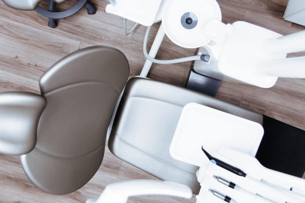 Dental practice chair