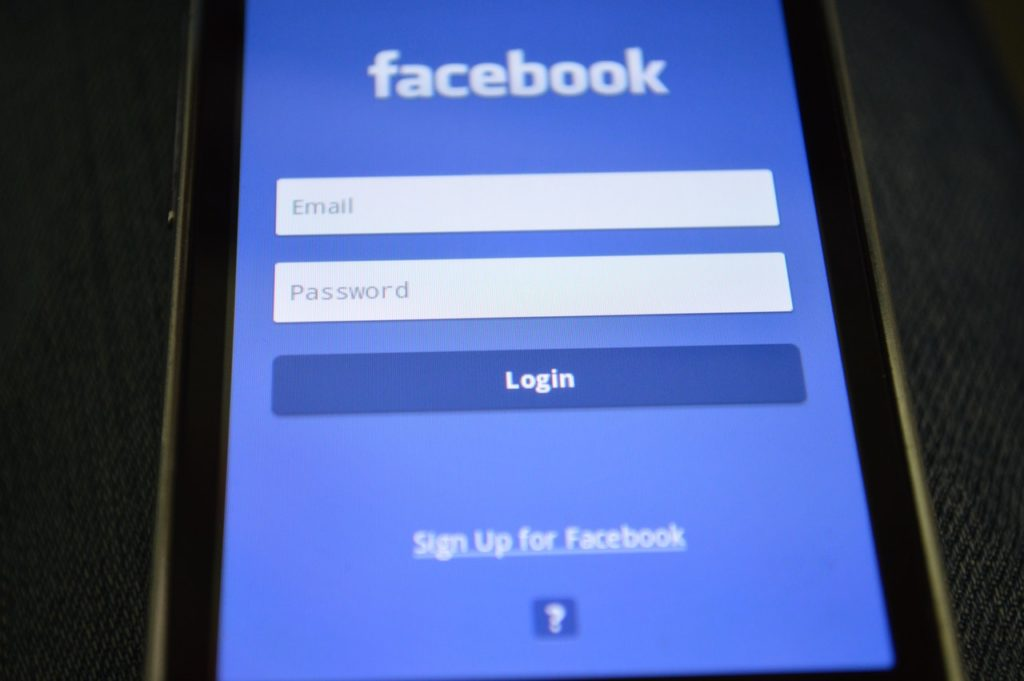 facebook, computer